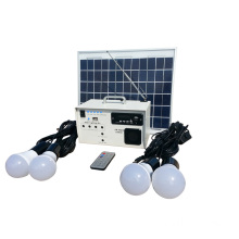 10w multifunction solar power lighting system