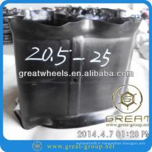 20.5-25 pneu mat et pneu tube intérieur