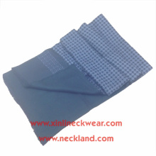 Nouvelle impression d'écran latéral de double de conception et écharpe magique d'hommes 100% soyeux balayés par soie