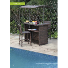 Wicker Rattan Garden Bar Furniture