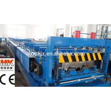 Rollo de plataforma de piso de acero que forma la maquinaria