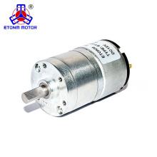 32мм 500об / мин 24В редукторный электродвигатель постоянного тока для мыла
