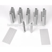 Perfil de extrusión de aluminio para ventanas y puertas