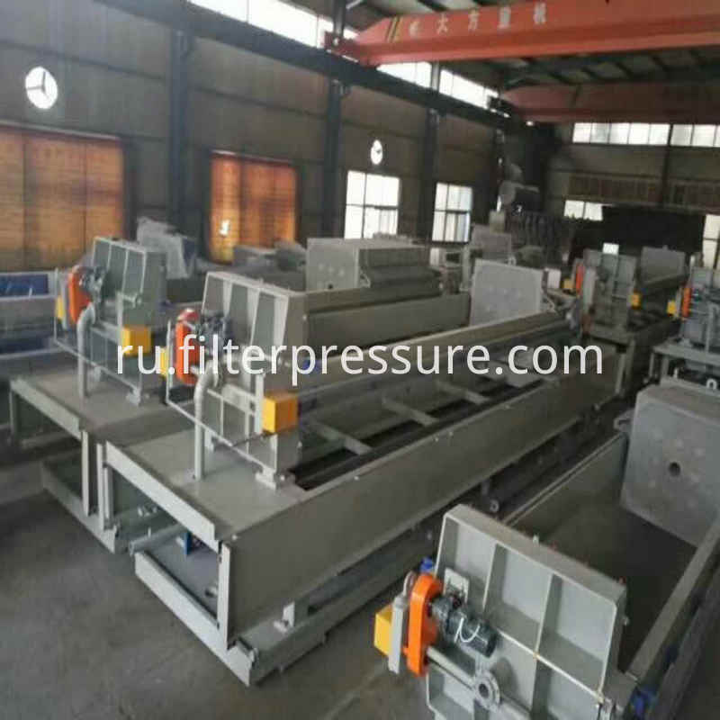 Filter Press Working Site5