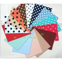 Дизайн dots печатных полиэфирной ткани для Латинской Америки