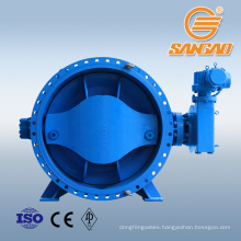 steam water dn2200 butterfly valve dimensions ss316l butterfly valve
