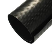 black plastic sheeting fish farm pond liner hdpe geomembrane for pool 1.0mm