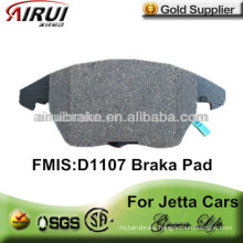D1107 no noise brake pad for Jetta after market(OE:1K0 698 151)
