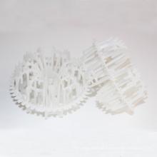 Anel Rosette plástico do tipo do polipropileno para a embalagem química