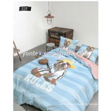 100% Cotton 3D Star Kids Printing Bedding Set