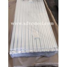 Feuille de toiture en aluminium ondulé pré-peinturé