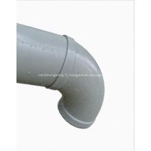 Coude de tuyau pp en polypropylène anti-corrosion