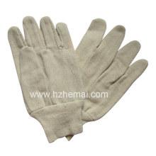 Baumwoll-Segeltuch-Handschuh-Sicherheits-Arbeitshandschuh