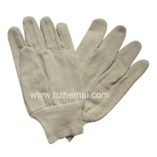 Cotton Canvas Gloves Safety Work Glove
