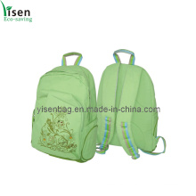 Fashion Green Backpack Bag (YSBP-008)
