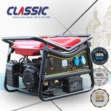 CLASSIC CHINA 6.5hp Benzin-Generator-Set, Generator Benzin Elektrischer Start Benzin-Generator 2.5kva