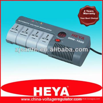 SRW-1500-D Inicio Tipo de relé Estabilizador automático de tensión / AVR / VMARK