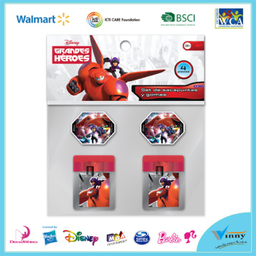 Big Hero Sharpener and Eraser Set