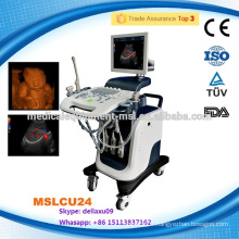 promotion!!! 4d color doppler ultrasound/laptop ultrasound scanner MSLCU24A