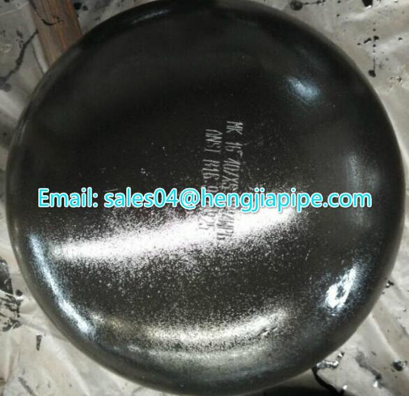 seamless pipe end cap