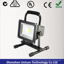 AC100-240V recarregável 20W 120degree luz de inundação LED com base magnética