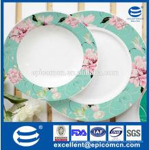 Chinesischen Hersteller Großhandel Keramik Snack Platten