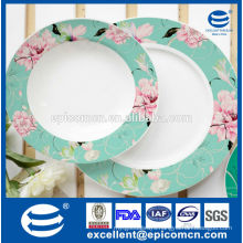 chinese manufacturer wholesale ceramic snack plates