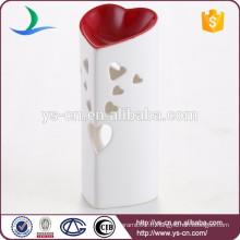 Vente en gros de bougies en forme de coeur pour décoration de maison