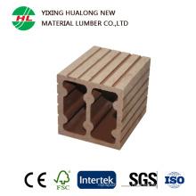 Coloum compuesto plástico de madera para la barandilla de las barandillas (HLM66)