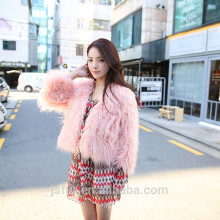 New Style Custom Cheap Sheep Shearing Fur Women Winter Coat