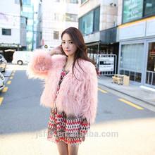 New Style Custom Cheap Sheep Shearing Fur Women Winter Coat