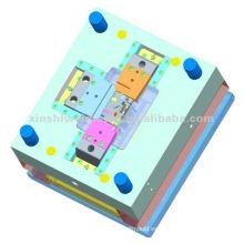 fabricante de moldes de inyección de plástico