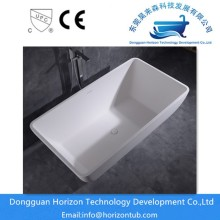 Acrylic solid surface bathtubs
