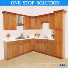 Slim Fit Simple Style Fonctionnel Armoires de cuisine en bois massif