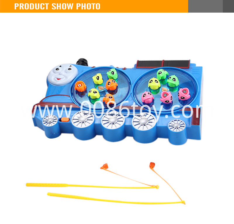 Plastic Electric Turntable Fishing Platy