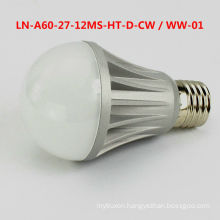 LED Bulb A60 E26/E27 230v dimmable 7W 3 years warranty GS TUV CE ROHS certification