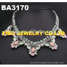 bridal rhinestone necklace