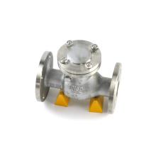 Mejor venta de alta temperatura y alta presión de acero inoxidable brida disco de aleta válvula de retención de 12 pulgadas