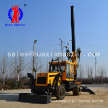 XWL-15 rotary pile drilling machine with wheel easy to move Small rotary drilling rig with low noise and high efficiency