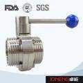Vanne en acier inoxydable de contrôle de fluide de qualité alimentaire (JN1005)