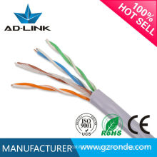 2015 Hot Sale Shield Cat5e solid Computer lan cable