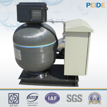 Industrial Swimming Pool Aqua Sand Filter with ISO SGS Certificates