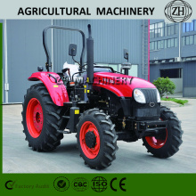 CE Passed Farm Tractor 90HP dengan Big Wheel