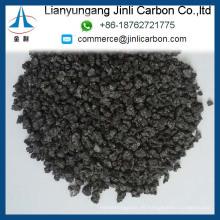 Chinesisches kalziniertes Petroleumkoks S 0,7% Kohlenstoffadditiv