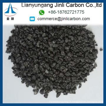Recharges de graphite à teneur élevée en soufre CPC S 0,7% / S 0,7% Recarburant graphite à haute teneur en soufre / coke de pétrole calciné