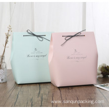 New Fashion Design for Art Paper Soap Boxes Custom logo and print wedding gift bag supply to Indonesia Wholesale