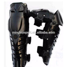 Motorcycle gear to protect the legs knee support used to riding, bicycle.Industrial area