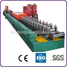 YTSING-YD-4442 Прошел CE и ISO PU заслонки двери профилегибочная машина / PU Роллинг заслонки Slat Machine WuXi