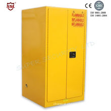 Drum Flammable Storage Cabinet With Galvanized Steel Shelving, Paddle Lock For Security