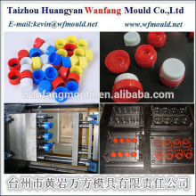 two color bottle cap injection mould/china plastic bottle cap injection mould